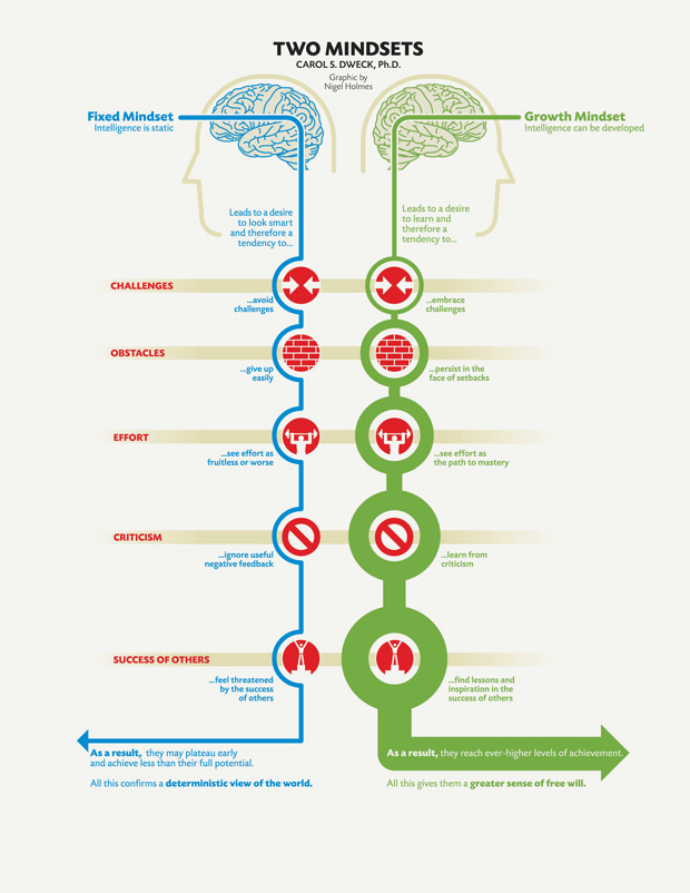 Growth Mindset: The Key to Fluency
